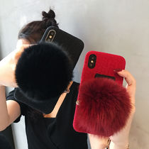 Blended Fabrics Street Style Smart Phone Cases