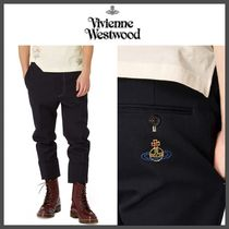 Vivienne Westwood Tapered Pants Plain Cotton Tapered Pants