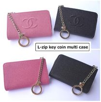 CHANEL ICON Unisex Leather Keychains & Bag Charms