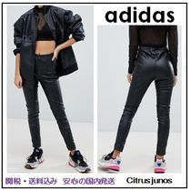 adidas Casual Style Faux Fur Street Style