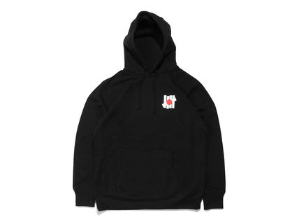 UNDEFEATED Hoodies Pullovers Street Style Long Sleeves Plain Cotton Hoodies