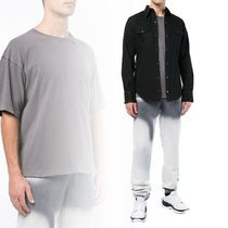 Off-White Pullovers Unisex Street Style Cotton Short Sleeves T-Shirts