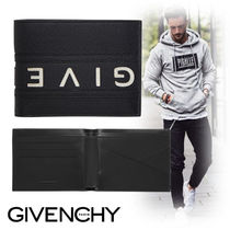 GIVENCHY Street Style Leather Folding Wallets