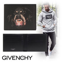 GIVENCHY Canvas Street Style Folding Wallets