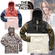 THE NORTH FACE Flower Patterns Casual Style Street Style Plain Outerwear