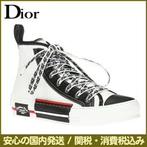 DIOR HOMME ATELIER Street Style Plain Leather Sneakers