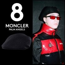 MONCLER Unisex Street Style Collaboration Beret & Hunting Hats