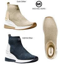 Michael Kors Round Toe Plain Ankle & Booties Boots