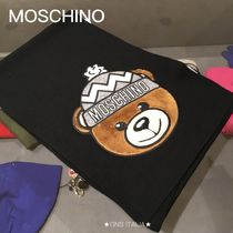 Moschino Wool Other Animal Patterns Heavy Scarves & Shawls