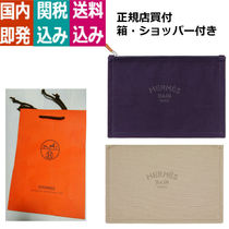 HERMES Yachting Casual Style Plain Clutches