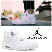 Nike AIR JORDAN 4 Petit Street Style Kids Girl Sneakers