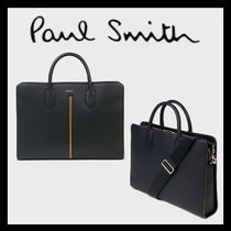 Paul Smith Stripes A4 Plain Leather Business & Briefcases