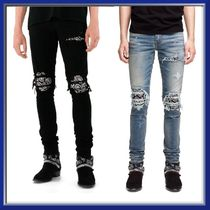 AMIRI Denim Street Style Skinny Fit Jeans & Denim