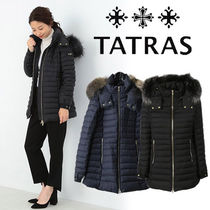 TATRAS PRIMULA Wool Blended Fabrics Plain Medium Down Jackets