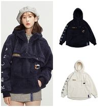 ROMANTIC CROWN Casual Style Unisex Street Style Outerwear