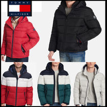Tommy Hilfiger Street Style Plain Down Jackets