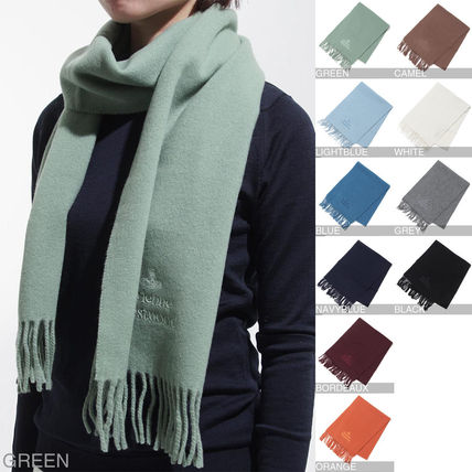 Wool Heavy Scarves & Shawls