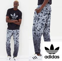 adidas Printed Pants Camouflage Street Style Cotton Patterned Pants
