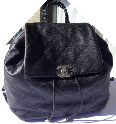 CHANEL Backpacks Casual Style Leather Backpacks 3