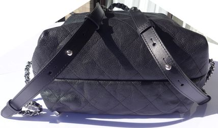 CHANEL Backpacks Casual Style Leather Backpacks 11