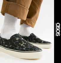 ASOS Leopard Patterns Street Style Loafers & Slip-ons