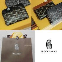 GOYARD 2018-19AW MATIGNON black, black/brown mini size coin cases
