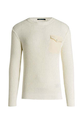 Scotch & Soda Knits & Sweaters Crew Neck Pullovers Street Style Cropped Plain Cotton