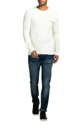 Scotch & Soda Knits & Sweaters Crew Neck Pullovers Street Style Cropped Plain Cotton 2