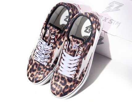 Leopard Patterns Unisex Street Style Sneakers