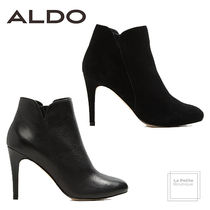 ALDO Plain Toe Plain Leather Pin Heels Oversized Elegant Style