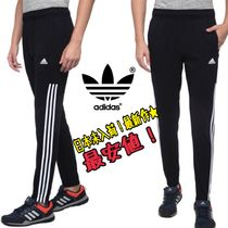 adidas Unisex Street Style Plain Cotton Skinny Fit Pants