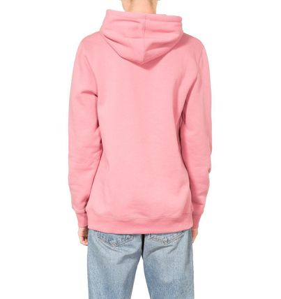 STUSSY Hoodies Pullovers Street Style Long Sleeves Plain Cotton Oversized 5