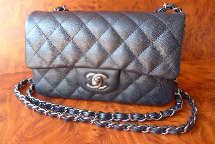 CHANEL Shoulder Bags Casual Style Chain Leather Shoulder Bags 5