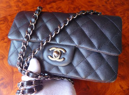CHANEL Shoulder Bags Casual Style Chain Leather Shoulder Bags 14