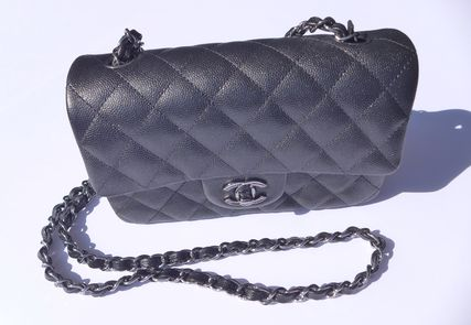 CHANEL Shoulder Bags Casual Style Chain Leather Shoulder Bags 20