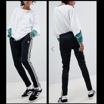 adidas Stripes Casual Style Street Style Plain Long Pants