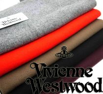 Vivienne Westwood Wool Knit & Fur Scarves