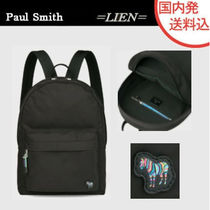 Paul Smith Unisex Street Style Plain Other Animal Patterns Backpacks