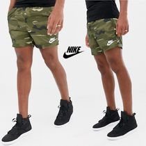 Nike Printed Pants Camouflage Street Style Shorts