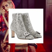 Jimmy Choo With Jewels Elegant Style Ankle & Booties Boots