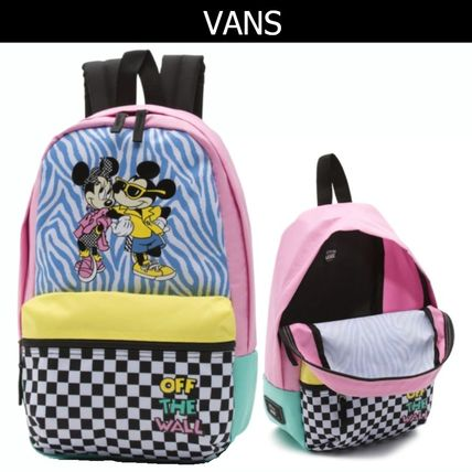 Zebra Patterns Other Check Patterns Casual Style Backpacks