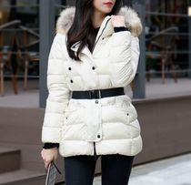 MONCLER CLIO Street Style Down Jackets