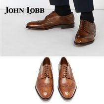 John Lobb Wing Tip Leather Oxfords