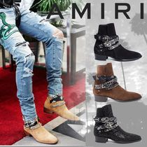 AMIRI Chain Leather Boots