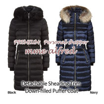 Burberry Plain Long Down Jackets