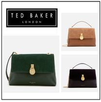 TED BAKER Suede Plain Shoulder Bags