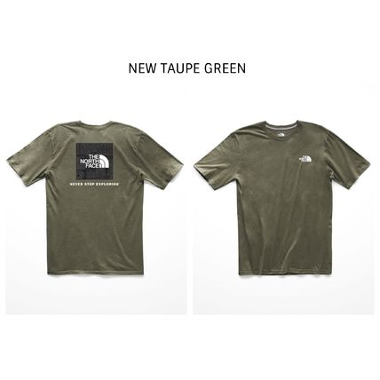THE NORTH FACE Crew Neck Crew Neck Street Style Short Sleeves Crew Neck T-Shirts 6