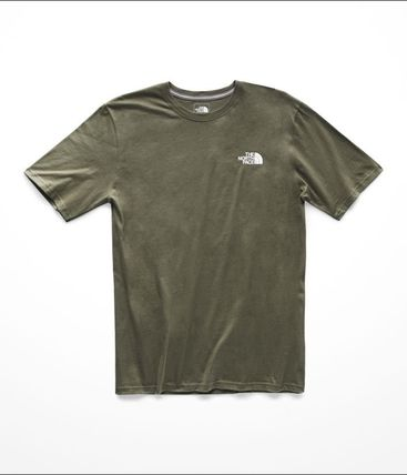 THE NORTH FACE Crew Neck Crew Neck Street Style Short Sleeves Crew Neck T-Shirts 8