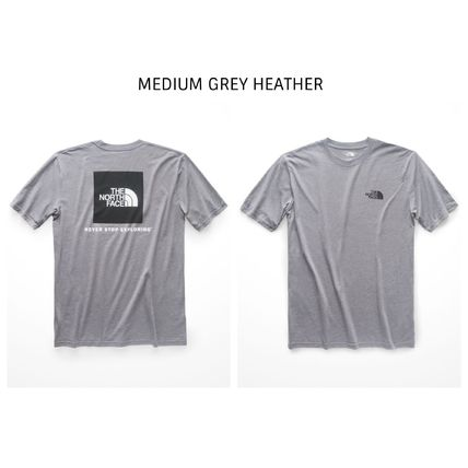 THE NORTH FACE Crew Neck Crew Neck Street Style Short Sleeves Crew Neck T-Shirts 9