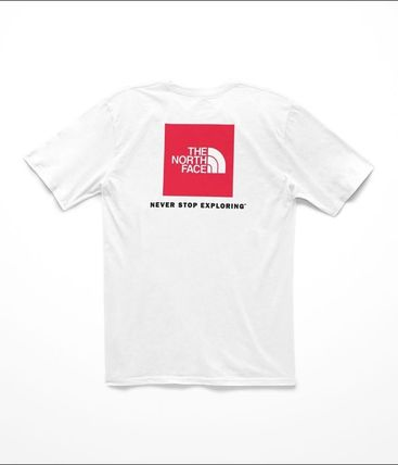 THE NORTH FACE Crew Neck Crew Neck Street Style Short Sleeves Crew Neck T-Shirts 14